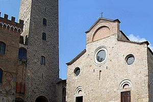 Collegiate church in San Gimignano