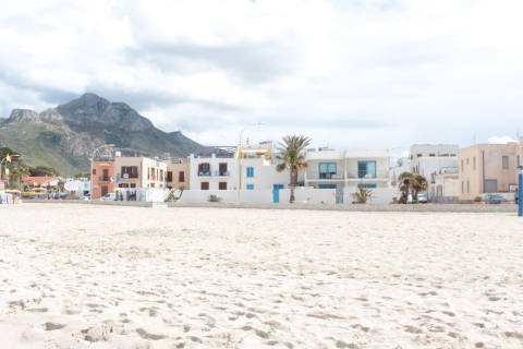 Beach in San Vito lo Capo