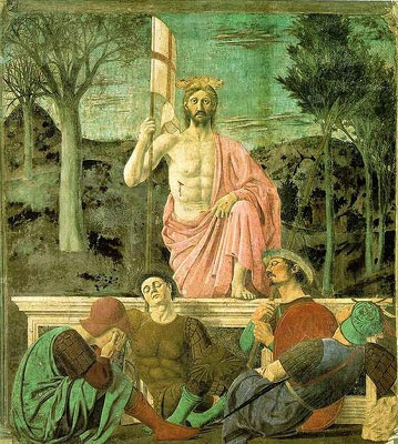 Resurrection by Piera della Francesca