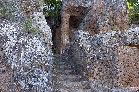 Etruscan Tombs in Tuscany