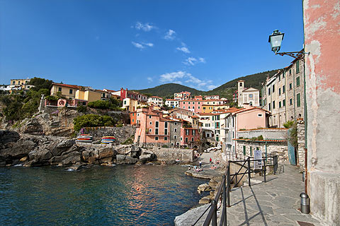 Harbour in Tellaro
