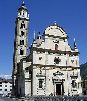 Santuary of the Virgin Mary in Tirano