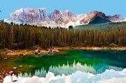 dolomites-lake
