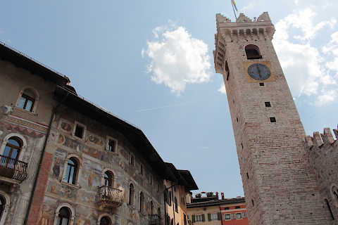 Torre Civica, medieval tower in Trento