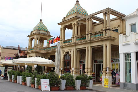 Visit Viareggio one of the most popular seaside resorts in Tuscany