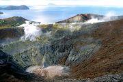 vulcano-crater